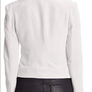 Rebecca minkoff blazer jacket white size 10